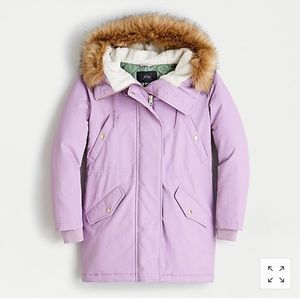 NWT J.Crew Perfect Winter Parka with PrimaLoft® XS